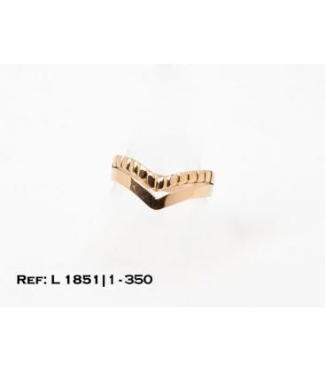1-1-350-1-ANILLO EN UVE CON GALLONADO SUPERIOR (18 mm) L1851