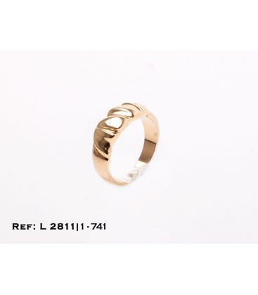 1-1-741-1-Anillo gallonado parte central (Talla 16 L2811
