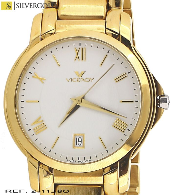 80523d286afd Reloj oro 18Kt. de caballero viceroy swiss movement AA- 279 - 10838
