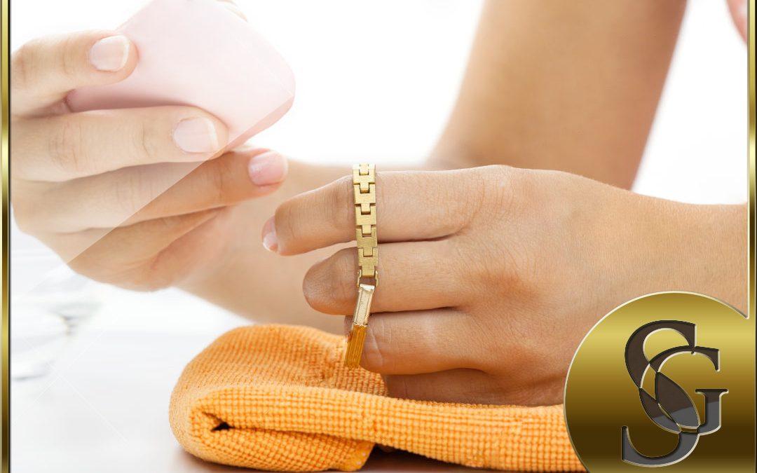 Como mantener limpias tus joyas